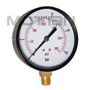 3.5 Inch Standard Steel Case Bourdon Tube Pressure Gauge