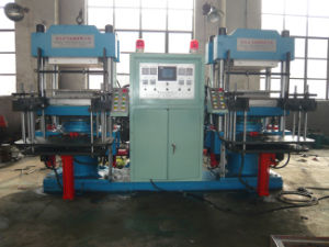China Double Type Automatic Plate Vulcanizing Press pictures & photos