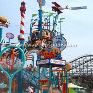 Giant Water House Water Slide Village Amusement Park pictures & photos