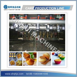 Complete Full Automatic Chocolate Sandwiching Cake Machine pictures & photos