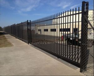 Black Powder Coated Wrought Iron Fencing Temporary Fence pictures & photos