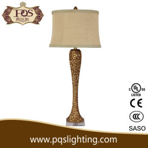 Golden Polyresin Lighting for Furinture Decoration