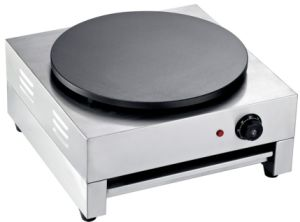 Stainless Steel Table Top Electric Crepe Grill De-1-J pictures & photos