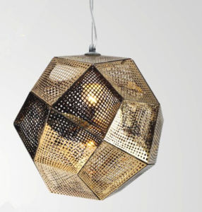Modern Fashion Polygon Metal Pendant Lamp L4018h1 for Restaurant pictures & photos