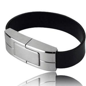 Wrist Band USB Leather Flash Drives (DG-SZ325)