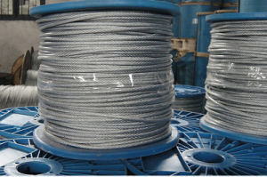 Galvanized Steel Wire Rope 6X7+FC with Fibre Core pictures & photos