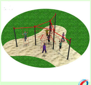 Outdoor Fitness Playground Gym Amusement Children Climbing Outdoor Park Equipment pictures & photos
