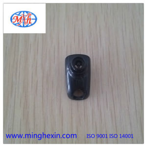 Black Plastic Earphone Housing with ISO SGS