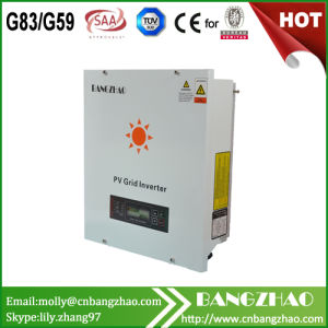 3kw Grid Tie Solar Inverter with MPPT Technology High Efficiency pictures & photos