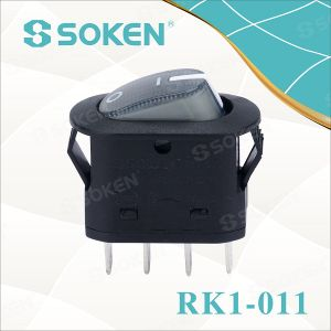 Soken Dpst Electrical Appliance Coffee Machine Rocker Switch T100/55 pictures & photos