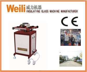 Insulating Glass Machine- Rotated Sealant-Spreading Table pictures & photos
