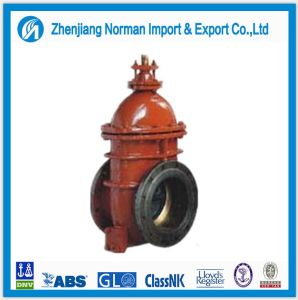 Marine Iron Flange Tanker Gate Valve pictures & photos