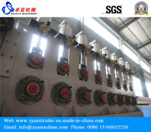 WPC Board Conical Extruder/Double Screw Extruder Machine pictures & photos