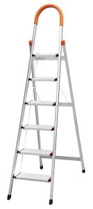 High Quality 6 Step Aluminum Household Ladder with En13 Approval pictures & photos