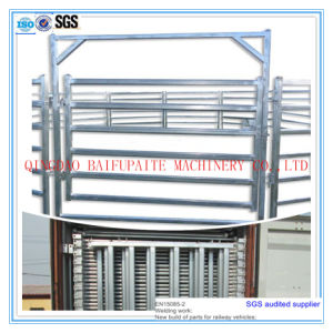 Galvanized Cattle Iron Fencing Panel pictures & photos