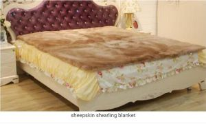 Genuine Merino Sheepskin Underlay/Bed Pad pictures & photos