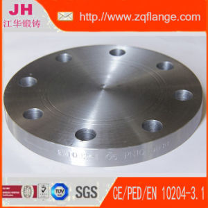 Carbon Steel Blind Flange of DIN 2527 Pn10 pictures & photos