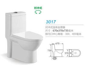 Hedge-Piece Toilet 3017