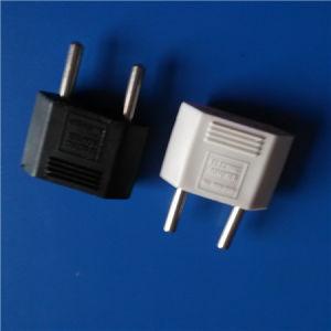 Two Round Pin European Plug Socket (RJ-0355) pictures & photos