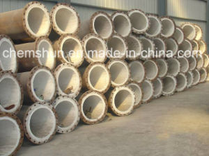 Chemshun Ceramics Fabricated Pipe Bend pictures & photos