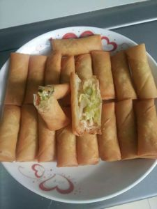 40g Vegetables Spring Roll, Frozen Food, Frozen Style pictures & photos