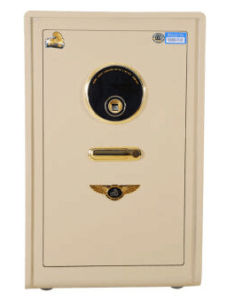 New Luxury Gold Fingerprint Safe for Home Office Use pictures & photos