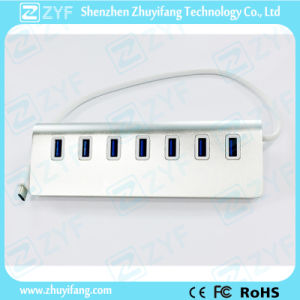 Wedge Design Type C 7 Port USB 3.0 Hub (ZYF4002)