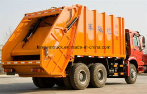 Sinotruk HOWO Brand Refuse Garbage Truck with 22m3/ Compactor Garbage Truck pictures & photos
