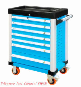 7 Drawers Professional Trolley Tool Cart (FY06A) pictures & photos