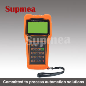 Frame Type Portable Ultrasonic Liquid Portable Flow Meter Wireless pictures & photos