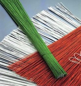 Green Padde Florist Wire for Fake Flower Stem pictures & photos