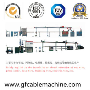 PVC Sheath Plastic Material Cable Extrusion Equipment pictures & photos