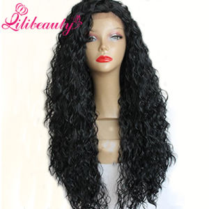 100% Remy Brazilian Human Hair Kinky Curl Silk Top Full Lace Human Hair Wigs pictures & photos