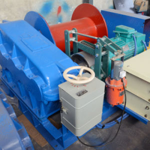 Horizontal Movement Traction 5t Electric Winch pictures & photos