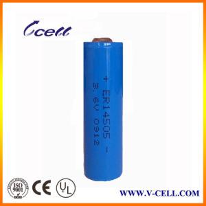 Er14505h 3.6V Lithium Battery AA Er14505 2600mAh