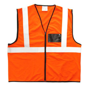 100% Polyester Reflective Vest V022 pictures & photos