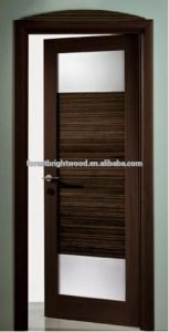 Modern Interior Door with Glass Inserts pictures & photos