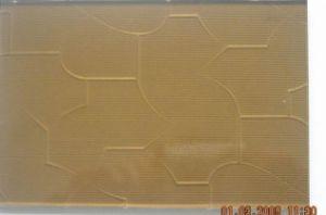 Brown Pattern Glass