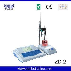 Electric Acid Base Titration Automatic Potenmetric Titrator pictures & photos