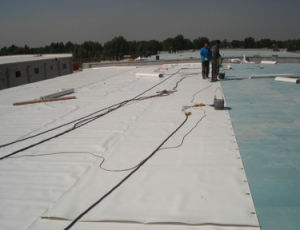 PVC Roofing and Waterproofing Membrane with 1.2mm/1.5mm/2.0mm pictures & photos