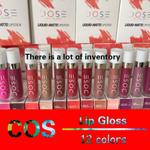 COS SOC Lip Gloss Lipstick Matte Lip gloss Enamel 12 Color pictures & photos