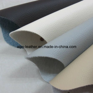 Hot Sale Artificial Semi-PU Leather for Furniture Industry