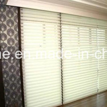 Window Blinds Magnetically Operated in Double Glass with Two Handles for Office Partition pictures & photos