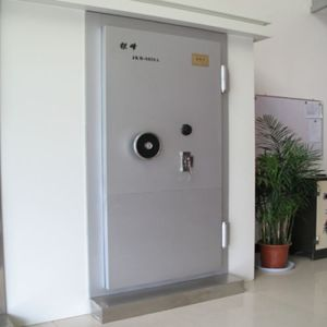 High Quality Metal Bank Security Door Safe Steel Vault Door pictures & photos