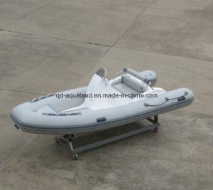 Aqualand 16feet 4.7m Rigid Inflatable Motor Boat/Rib Fishing Boat (RIB470C) pictures & photos