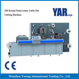 Low Price Zm-320 Rotary/Semi-Rotary Label Die-Cutting Machine with Ce pictures & photos
