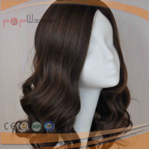 Top Qualtiy Human Virgin Remy Unprocessed Wavy Hair Silk Top Women Wig (PPG-c-0090) pictures & photos