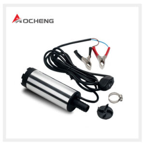 Mini DC 12V Water Oil Diesel Electric Submersible Refueling Pump pictures & photos