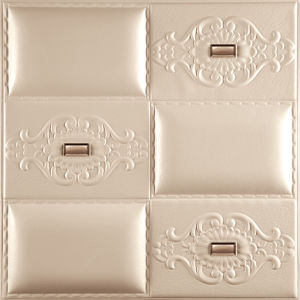 1087-20 Leather Wall Board for Wall Decoration 3D Wall Panel pictures & photos