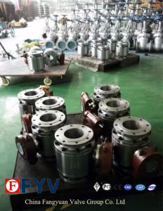 API6d Metal to Metal Seated Trunnion Ball Valve pictures & photos